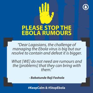 stop ebola rumours